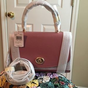 NWT Coach Tilly Top Handle Satchel Rose